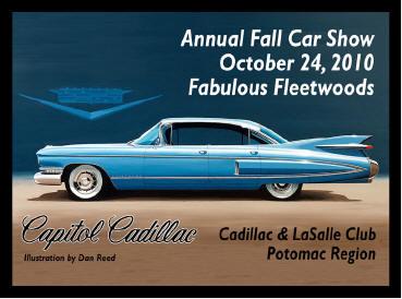 Fabulous Fleetwoods Car Show Oct 24th Greenbelt MD