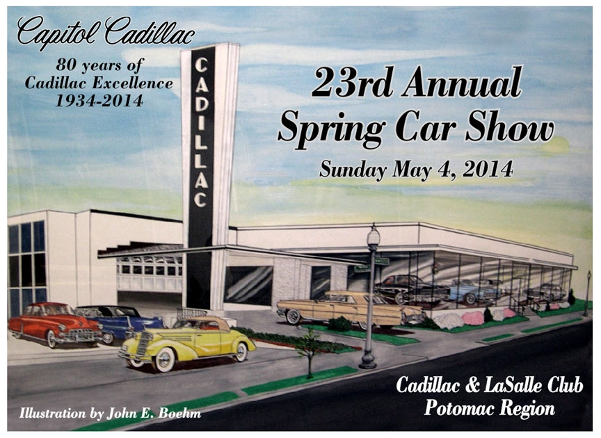 Capitol Cadillac CLC Potomac Region Annual Spring Car Show